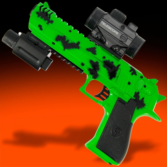 GelSoft Eagle Green Splat