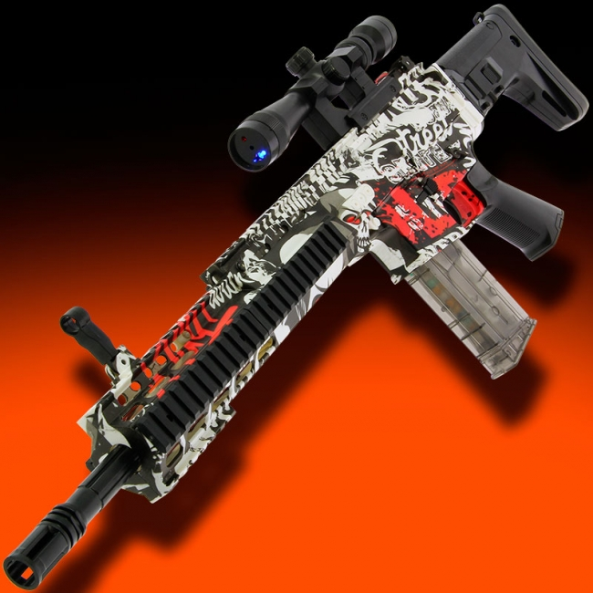 GelSoft Scar Rifle