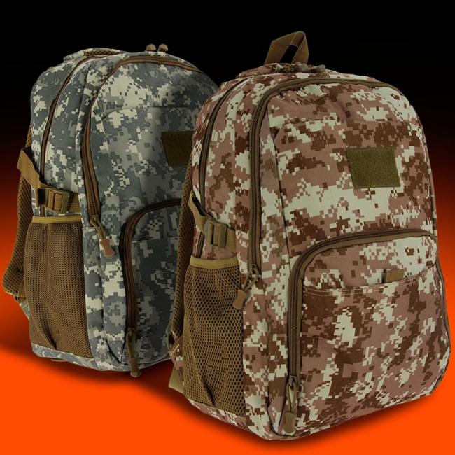 GelSoft Digital Camo BackpackS