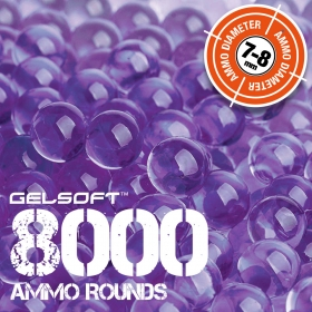 GelSoft 8000 Ammo Rounds