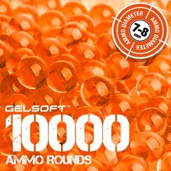 GelSoft 10000 Ammo Rounds 7-8mm