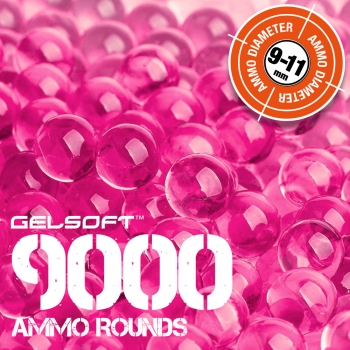 GelSoft 9000 Ammo Rounds 9-11mm