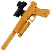 GelSoft Agent Gold Pistol