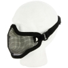 V1 Steel Mesh Lower Face Mask Oblique View