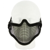 V1 Steel Mesh Lower Face Mask Front View