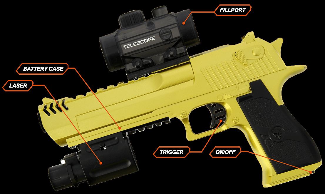 GelSoft Golden Eagle Parts