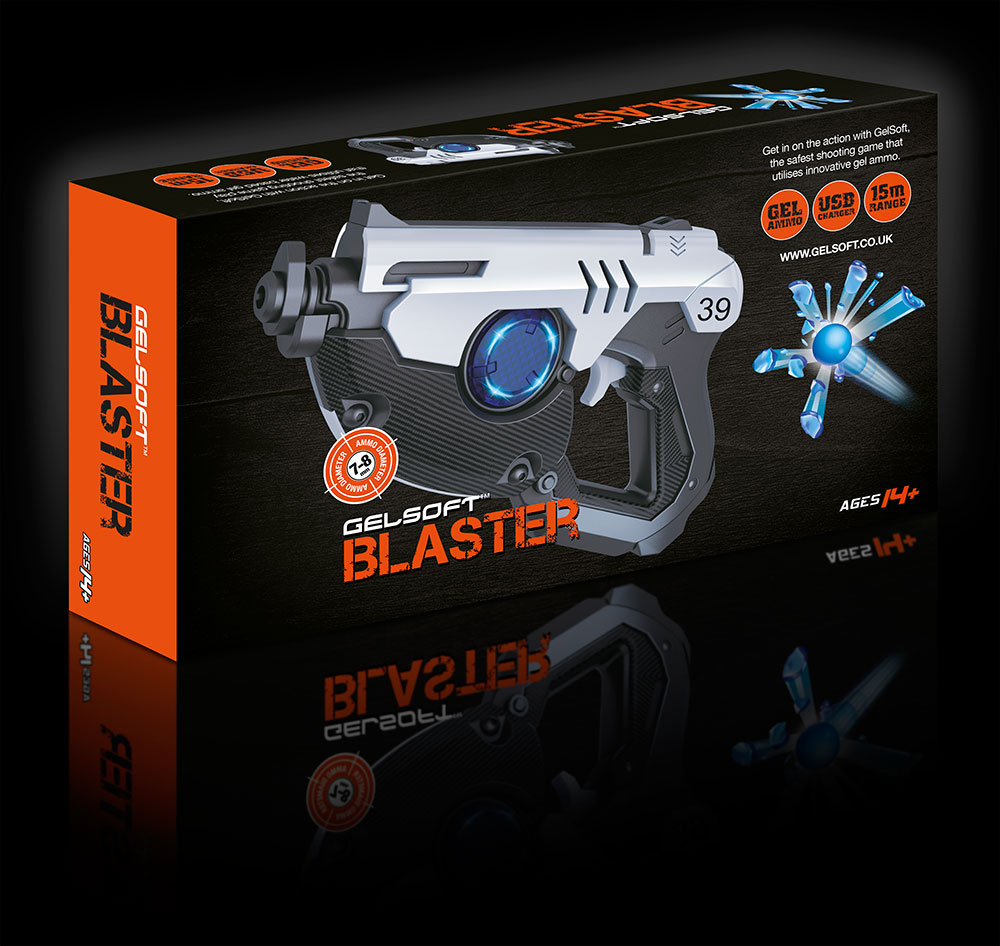 GelSoft Blaster Box