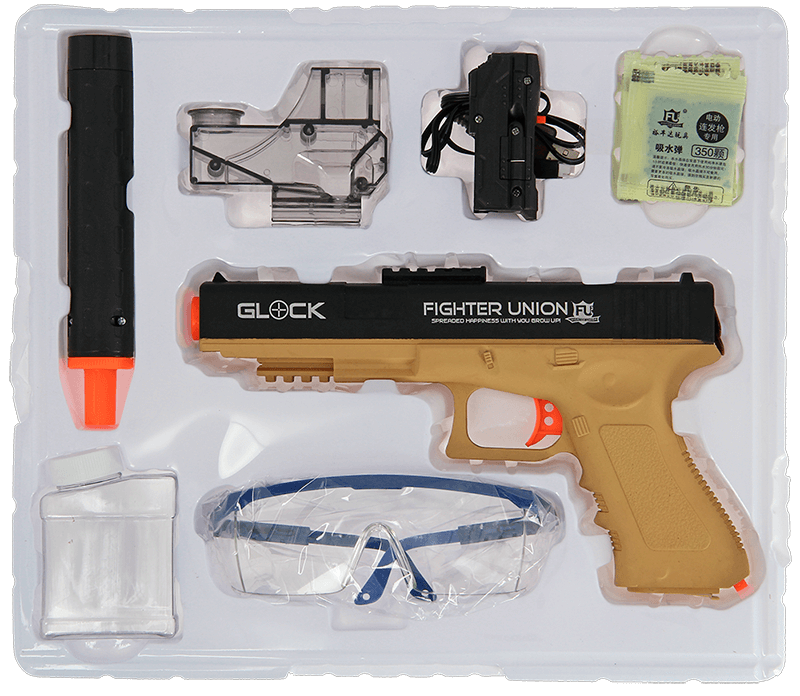 GelSoft Glock Box Contents