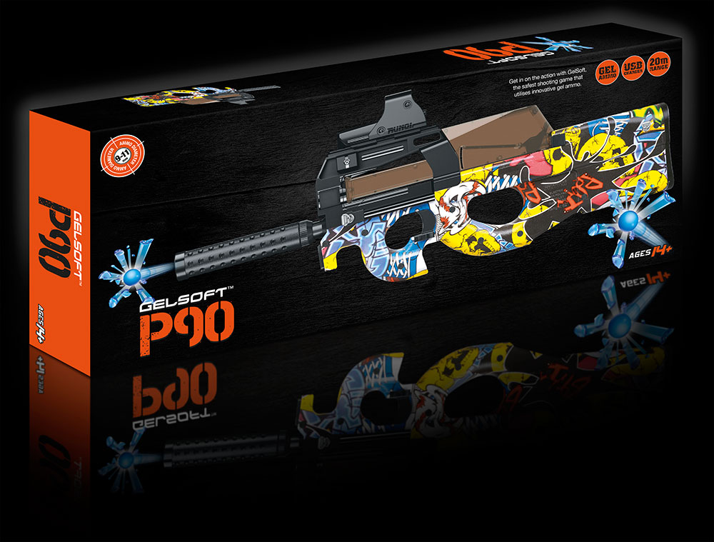 GelSoft P90 Box