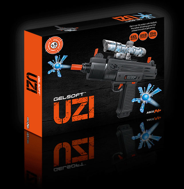 GelSoft Uzi Box